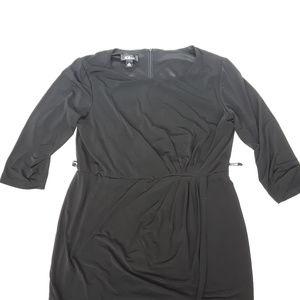 AGB Dress black 3/4 sleeve dress